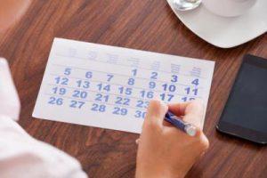 Manchas una semana después del período menstrual
