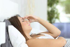 Síntomas comunes del síndrome pre-menstrual