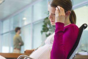 Dolor similar al dolor menstrual durante el embarazo